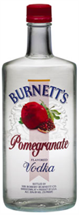 Burnett's Vodka Pomegranate 750ml - Case of 12
